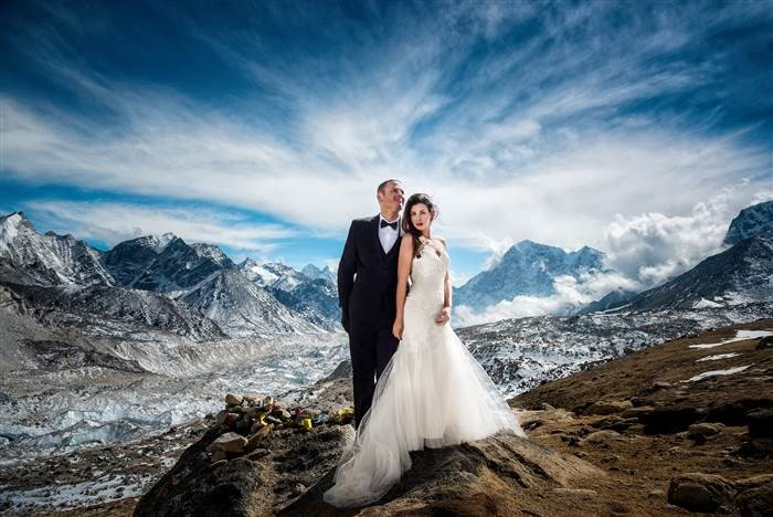 Majën e Everestit.
