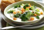 Supë me brokoli